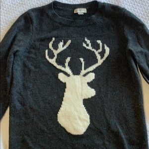 Loft | Reindeer Sweater for Christmas